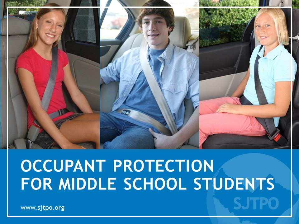 Occupant Protection for Middle School Students