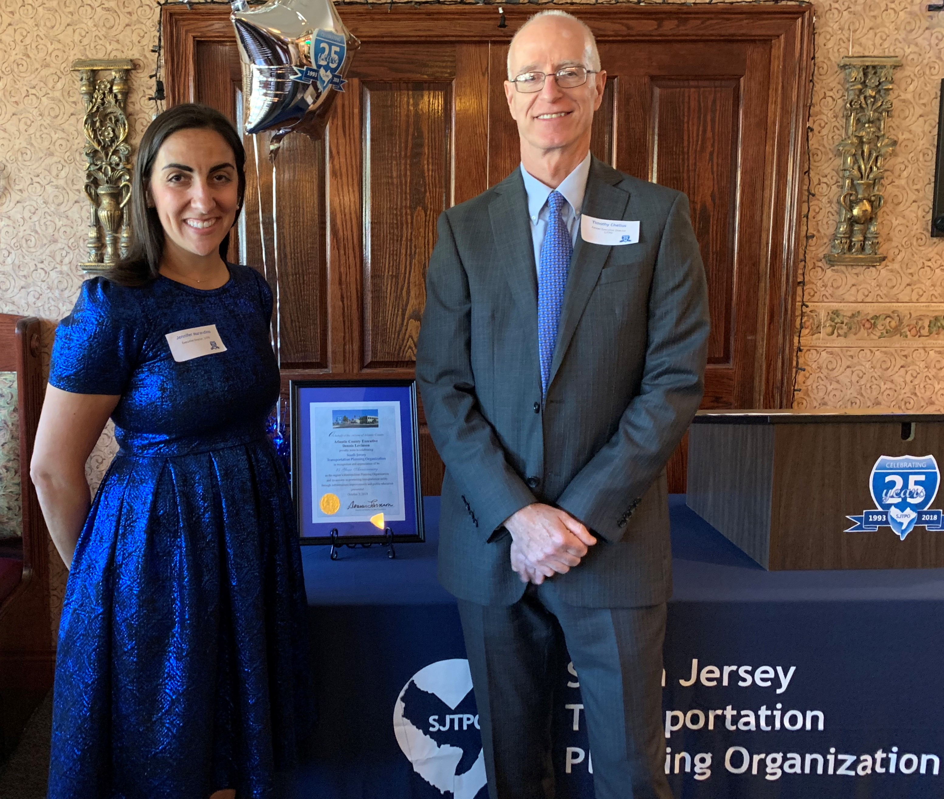 25 Years, 2 Executive Directors, 1 Mission for South Jersey's Transportation System